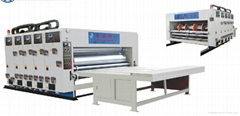 Flexo Multi-color Printing & Slotting Machine