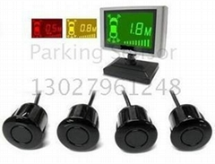 New Colorized Screen Parking Sensor with 4 Sensors
