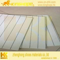 china insole waterproof stripe insole board for footwear