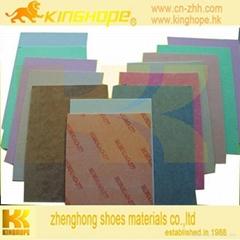 kinghope nonwoven Fiber insole board  cellulose midsole sheet