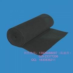 黑色除臭去异味活性炭过滤棉