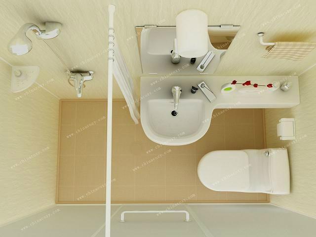下沉式卫生间 浴缸图片