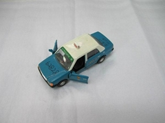 classic metal taxi model cars with opening door