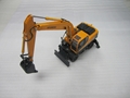 die cast alloy excavator model