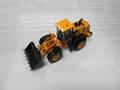 diecast metal Hyundai bulldozer model