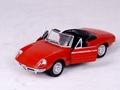 1 24 alfo-romeo open car model for