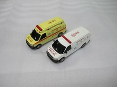 die cast cars models ambulance model 1:64