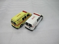 die cast cars models ambulance model 1:64 3