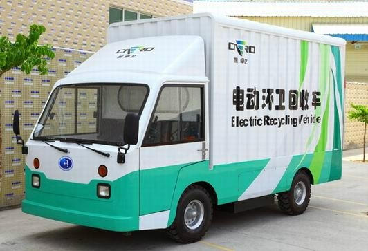 Electric sanitation car 1