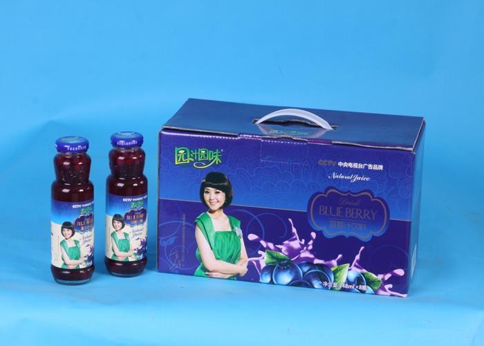 流通品.蓝莓汁饮料248mlB 1