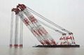 sheerleg floating crane barge for sale