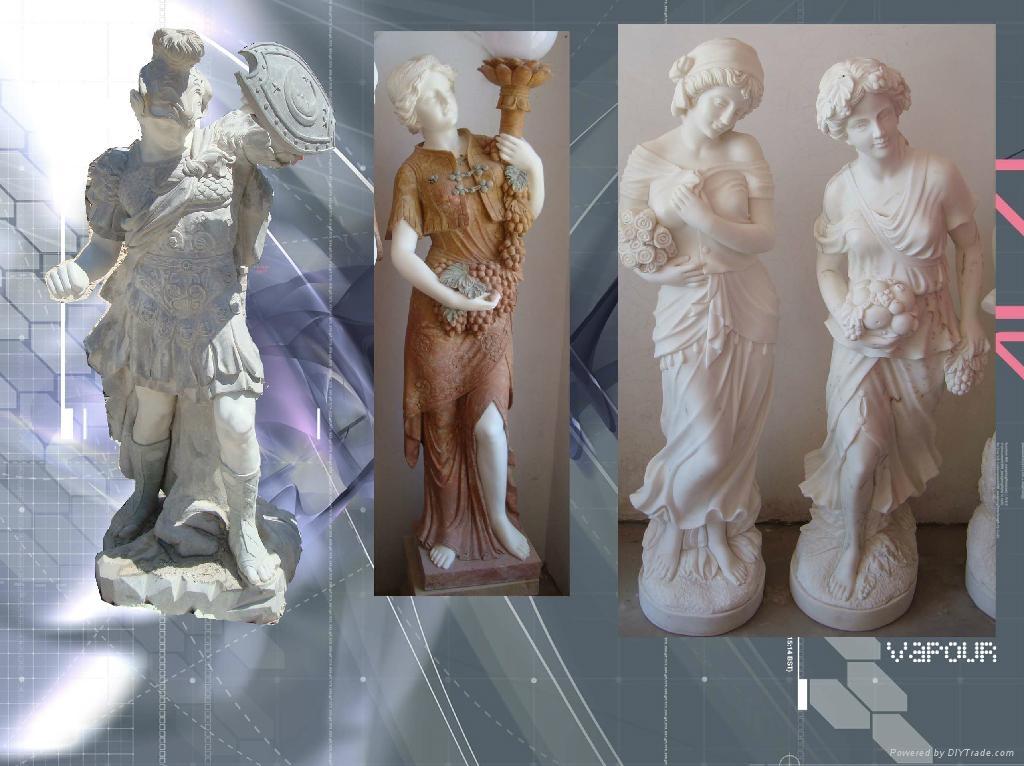 西方人物石雕 1