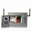 "Video Door Phone ""Metal Guardian"" - 7 Inch Monitor, Metal Housing Video Camera,"