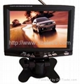 7 inch car digital lcd tv for Japan with DC 12V