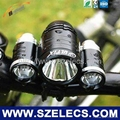 Super long light time bike lights with Light lifetime 100,000 hrs Cree LED LAMP