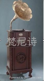 梵尼诗复古电唱机F1877-90 1