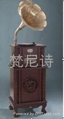 梵尼诗复古电唱机F1877-90