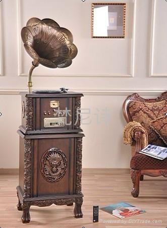 梵尼诗复古电唱机F1877-90 2
