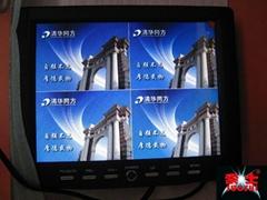 8寸液晶监视器接口(四画面)四路AV视频输入