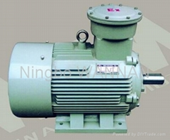 YB2 SERIES EXPLOSION-PROOF THREE-PHASE INDUCTION MOTORS