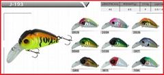 Hard lures best bass baits