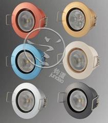 珠宝柜台专用LED灯