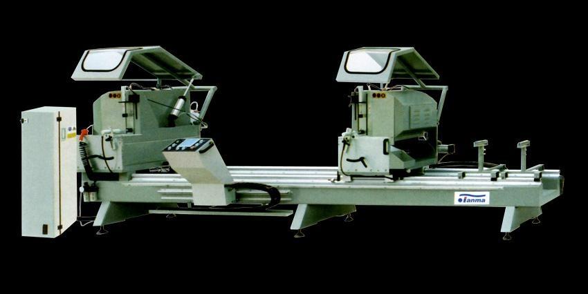 供应铝门窗双头数控精密切割锯床  1