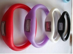 Anion silica gel watch