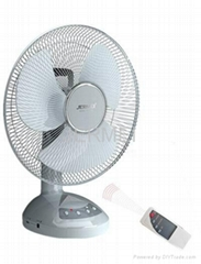 rechargeable fan with remote control