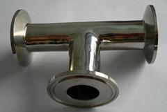 Sanitary Stainless Steel Tee