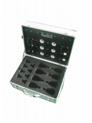 LED display box showing sample box