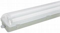 T8雙管IP65防水燈支架