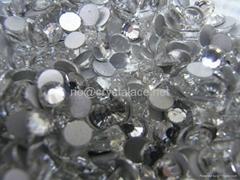 Non hotfix crystal flat back rhinestone