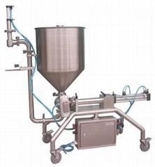 重庆海鲜酱颗粒自动灌装机