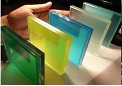Decoratiove PVB films for insulated glass