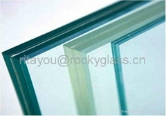 Clear/Color Laminated glass
