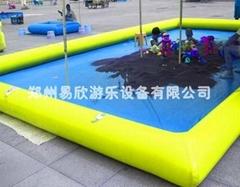 广场充气沙子沙池乐园