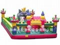 大型廣場充氣玩具淘氣堡氣墊床 3