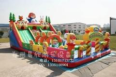 廣場大型儿童充氣玩具滑梯