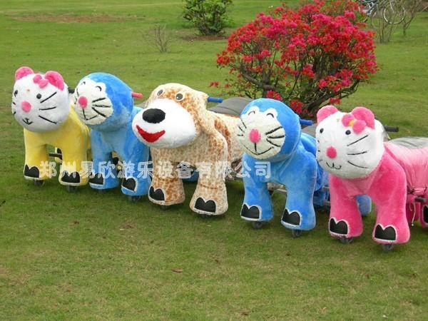 郑州儿童动物电动玩具车 5