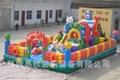 大型廣場充氣玩具淘氣堡氣墊床 4