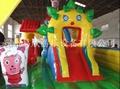 大型廣場充氣玩具淘氣堡氣墊床 5