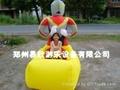 熊大彩灯充气气模车外罩