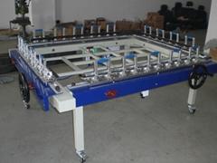 专业生产气动拉网机