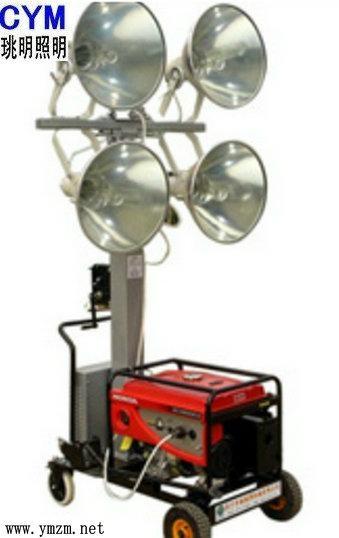 發電機移動昇降照明 4