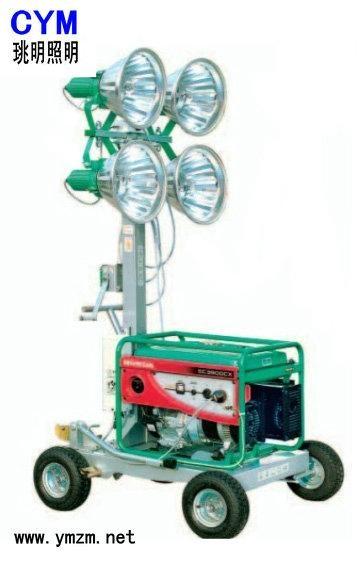便攜式昇降移動照明車 1