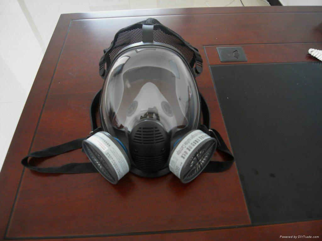 Double-Fliter Silicone Gas Mask 1