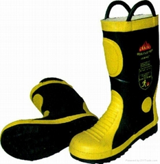 Safety Boots for Fireman
