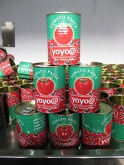 28-30% canned tomato paste/tomato ketchup export to Africa