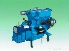 water-cooling marine diesel enigne